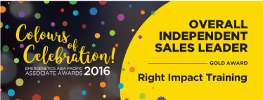 Emergenetics Asia-Pacific Associate Award for Independent Sales Leader (Gold Award 2016)
