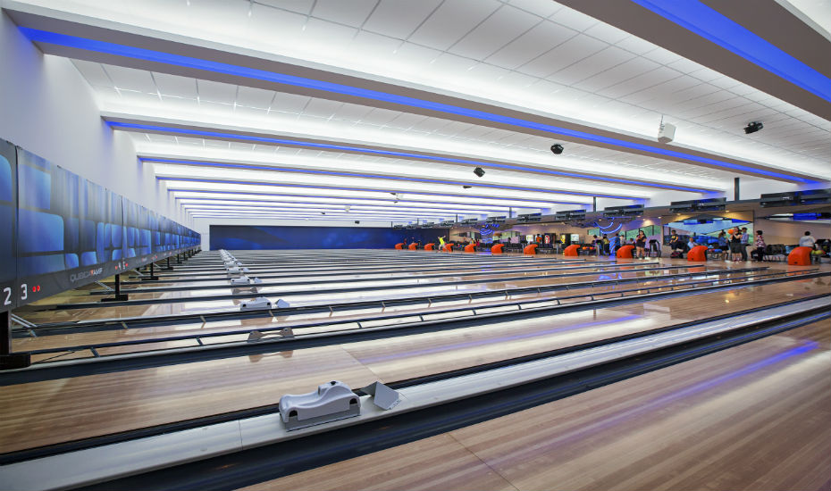 bowling alley in Orchid Country Club